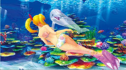 スーパー海物語IN沖縄4 マリンモード イルカ仕草予告