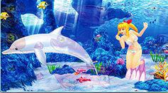 スーパー海物語IN沖縄4 マリンモード 加速前兆予告