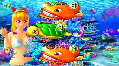 スーパー海物語IN沖縄4 マリンモード 珊瑚礁リーチ