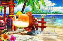 スーパー海物語IN沖縄4 沖縄モード おこさマンボウ予告