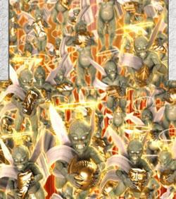 CR牙狼 GOLD STORM翔 3D魔天使群