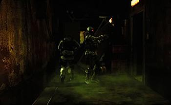 アジト地下室